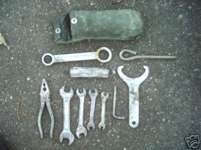Tool kit and special tools - Photo archive of parts - Loop frames