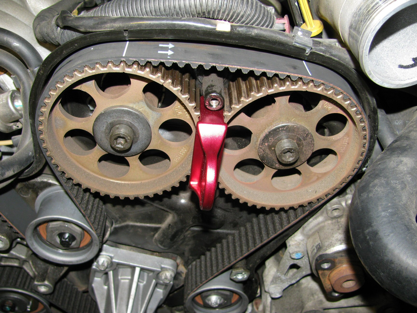 Timing Belt And Pulley Replacement Instructions How To